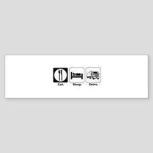 drive truck Sticker (Bumper)