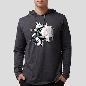 Breakthrough Baseball Mens Hooded Shirt