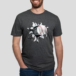 Breakthrough Baseball Mens Tri-blend T-Shirt