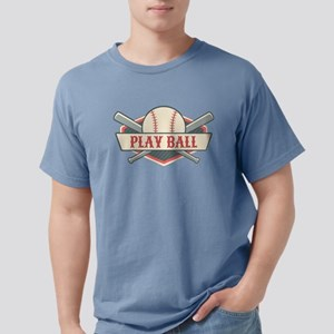 Play Ball Baseball Mens Comfort Colors Shirt