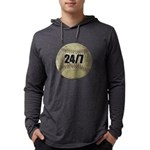 FIN-c-24-7-WonB Mens Hooded Shirt