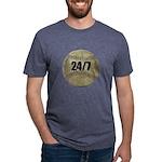 FIN-c-24-7-WonB Mens Tri-blend T-Shirt