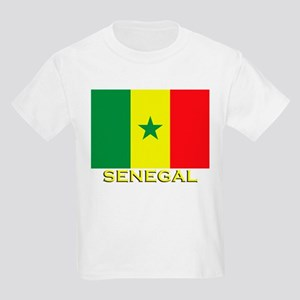 Senegal Flag Gear Kids T-Shirt