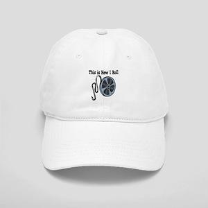 How I Roll Movie Film Tape Cap