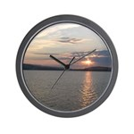 Lake Sunrise Wall Clock