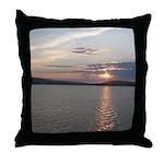 Lake Sunrise Throw Pillow