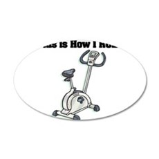 exercise bike.png Wall Sticker