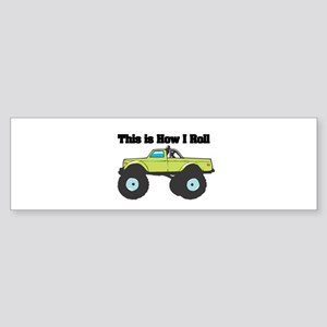 monster truck Sticker (Bumper)
