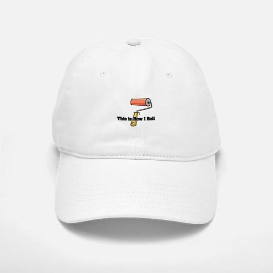 paint roller.png Baseball Baseball Cap