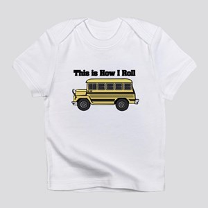 short yellow bus Infant T-Shirt