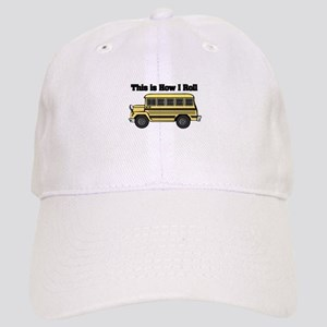 short yellow bus Cap
