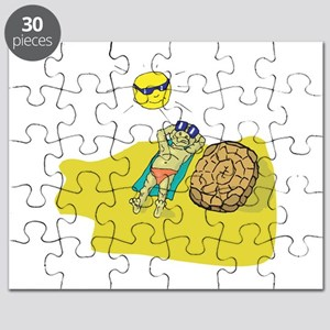 suntanning turtle Puzzle