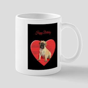 Birthday Bullmastiff puppy Mugs