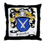 Schreiber Coat of Arms Throw Pillow