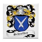 Schreiber Coat of Arms Tile Coaster