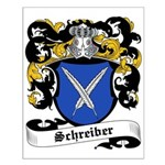 Schreiber Coat of Arms Small Poster