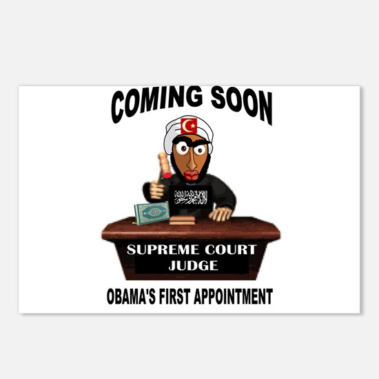 SUPREME COURT Postcards (Package of 8)