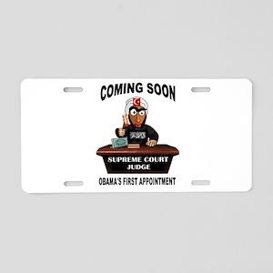 SUPREME COURT Aluminum License Plate