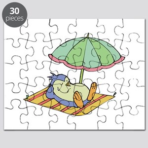 penguin in the sun Puzzle
