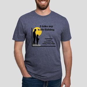 FIN-kid fish Mens Tri-blend T-Shirt