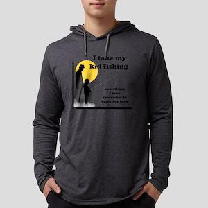 I Take My Kid Fishing Mens Hooded Shirt
