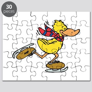 ice skating duck Puzzle