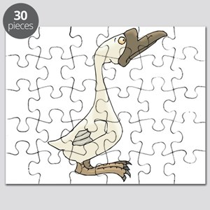 silly white goose Puzzle