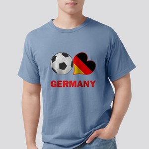 SOCCER-peace-love-germany Mens Comfort Colors