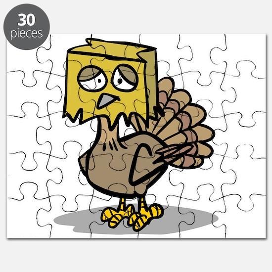 hiding paper bag face turkey.png Puzzle