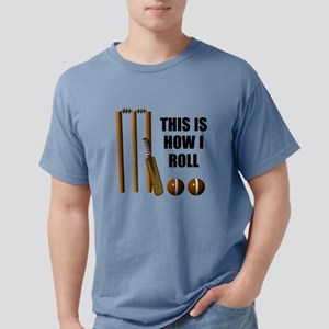 This Is How I Roll Cricket Mens Comfort Colors Shi