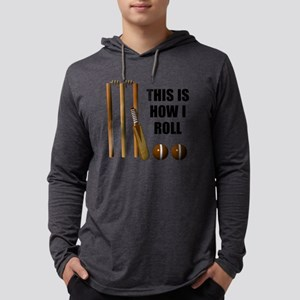 This Is How I Roll Cricket Mens Hooded Shirt