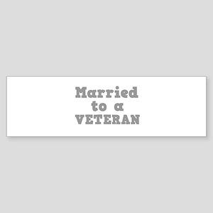 VETERAN Sticker (Bumper)