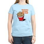 fries with that.png Women's Light T-Shirt
