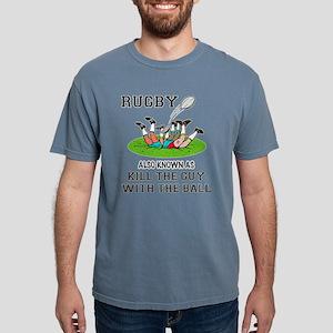 Rugby Kills Mens Comfort Colors Shirt