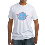 glasses-retro Fitted T-Shirt
