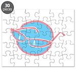 glasses-retro Puzzle