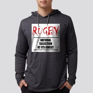 Rugby Natural Seldection Mens Hooded Shirt