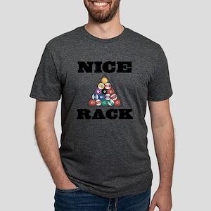 Pool Nice Rack Mens Tri-blend T-Shirt