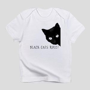 BLACK CATS RULE Infant T-Shirt