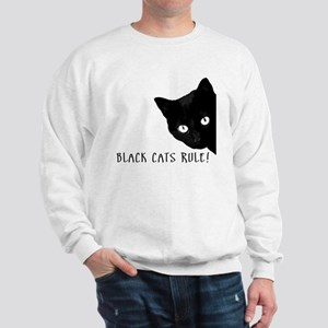 BLACK CATS RULE Sweatshirt