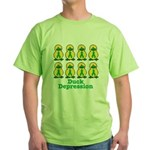 depression ducks.png Green T-Shirt