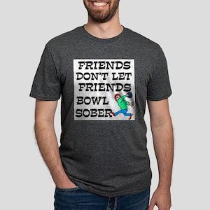 Drunken Bowling Mens Tri-blend T-Shirt