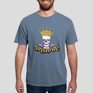 Bowling Kingpins Mens Comfort Colors Shirt