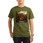 Mountains Calling Organic Men's T-Shirt (dark)