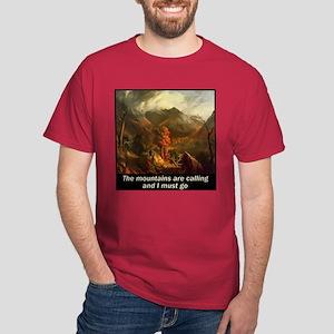 Mountains Calling Dark T-Shirt