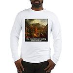 Mountains Calling Long Sleeve T-Shirt