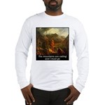 Mountains Calling Long Sleeve T-Shirt