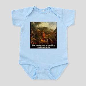 Mountains Calling Infant Bodysuit