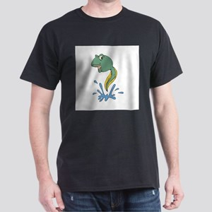 leaping tadpole copy Dark T-Shirt