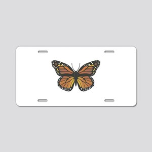 monarch butterfly copy Aluminum License Plate